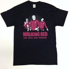 STAR TREK THE WALKING RED WALKING DEAD PARODY T-SHIRT