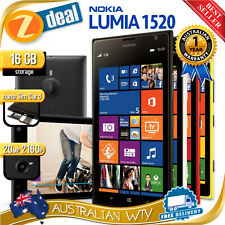 NOKIA LUMIA 1520 16GB 32GB 100% UNLOCKED  + 12MTH AUS WARRANTY (NEW SEALED BOX)