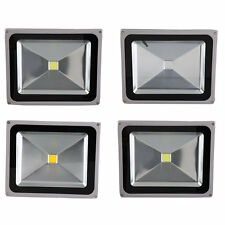 50W LED Outdoor Outside Garden Garage Drive Security Wall Flood RGB Light BG