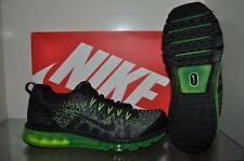 "Nike  Air Max ""09 JCRD Mens Running Shoes Flat Silver/Black/Dark Grey/Volt NIB"