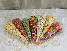 Multiple 100-500x Cone Cello Party, Favor, Treat, Sweet Candy Gift Empty Bags