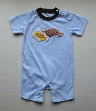 New Kids Children Baby Boys Girls Clothes Bodysuits and One-Pieces 4 Sizes Blue