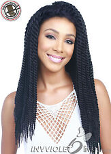 Bobbi Boss Premium Synthetic Lace Front Hand Braided Wig - MLF20 BOMBA TWIST 24