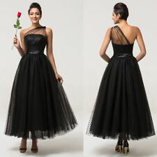 Vintage Sexy Bridesmaid Prom Ball Gown Formal Long Evening Party Cocktail Dress