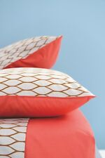 KENZO - MESH GALET PILLOW CASE 100% COTTON  60% OFF RRP - X