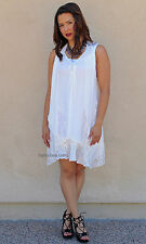 NWT Pretty Angel Clothing Cabernet 3 Piece Shirt Dress In Cream S M L XL 69912