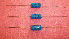 QTY (5) NLW10-100 CDE 10uf 100V 105' COMPUTER GRADE AXIAL ELECTROLYTIC CAPACITOR