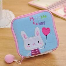 Cute Mini Women Bunny Sanitary Pad Organizer Holder Napkin Convenience Coin Bags