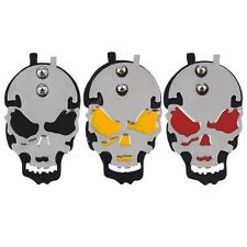 Professional Skull Tattoo Power Supply Foot Switch Pedal Stainless Steel BG