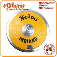 NELCO INDIANO Club Discus 65% Rim Weight Low Spin Steel Rim ABS Body