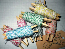 FINE BAKERS TWINE  Choice of colour and length Gift Wrapping, Embellishment