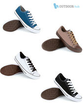 Urban Beach Classic Mens Boys Lace Up Canvas Pumps Stylish Casual Trainers Deck