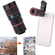 8×Zoom Telescope Magnifier Phone Camera Lens Holser for Camera Mobile Cell Phone