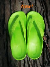 Lime STARFISH Thongs from Aussie Soles very comfortable arch support