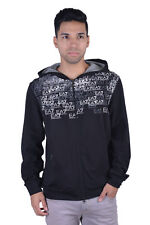 "Emporio Armani EA7 ""Train Premium"" Black Full Zip Hoodie Size S M L 2XL"