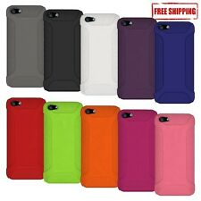 NEW AMZER PREMIUM SILICONE SOFT SKIN JELLY CASE COVER FIT FOR APPLE iPHONE 5