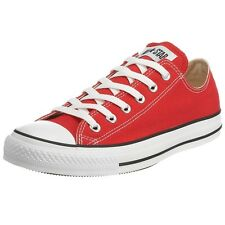 Converse Men Athletic Shoes Converse Chuck Low Top M9696 Red