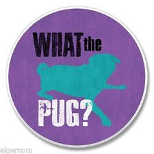 PUGS What the Pug? Absorbent Single Stone Absorbastone Auto Coaster Packaged NEW