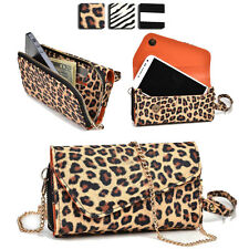 Wild Trim Protective Wallet Case Cover & Crossbody Clutch for Smart-Phones MUS12