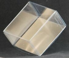 Chocolate dipped OREO Cookie 2 pc Clear Favor Boxes with Gold Insert-Asst Qtys