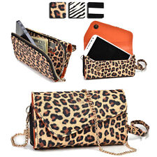 Wild Trim Protective Wallet Case Cover & Crossbody Clutch for Smart-Phones MUS22