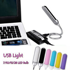 LED Lights USB Lights Lamp Flexible Portable For PC Laptop Notebook Computer