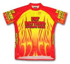 Primal Wear Fat Bastard Flames Cycling jersey Men's Short Sleeve New plus Socks