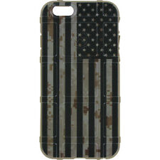 Magpul Field Case for iPhone SE,4,5,5s. Custom Black Subdued USA Flag DDC FDE