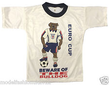 Childrens Kids England Euro Football sports T-shirt Tops Size 4-15 Yrs