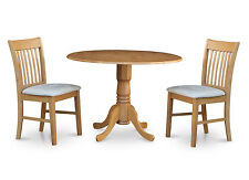 3 Piece kitchen nook dining set-small table and 2 dinette chairs