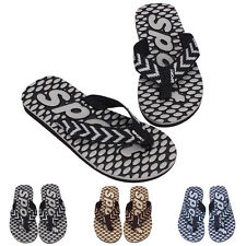 Men's Summer Sport Casual Beach Flat Flip Flops Slippers Sandals Thong Shoes