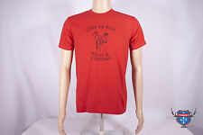 Vintage Inspired COBRA KAI DOJO KARATE KID American Apparel red 2001 t-shirt S M