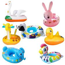 7 Models Cute Kids Inflatable Swim Seat Floating Boat Pool Ring PVC Water Toy