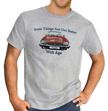 Classic Jaguar XJS  British Grand Tourer Car Printed Grey T-Shirt Ideal Gift