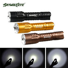Tactical Waterproof Zoomable Powerful 3000LM CREE T6 LED Flashlight Torch Lamp