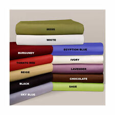 Extra Deep Pocket 3PC Fitted Sheet 800-TC 100% Egyptian Cotton All Size & Color