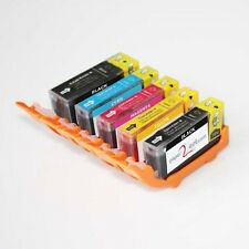 PGI-220 / CLI-221 Refillable Edible Ink Cartridges for Canon MP640 MADE IN USA