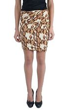 Just Cavalli Women's Stretch Mini Skirt Sz 2 4 6 8 12