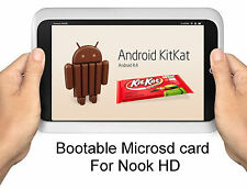 Kit Kat Android 4.4/CM11 Micro SD card for Nook HD - BNTV400