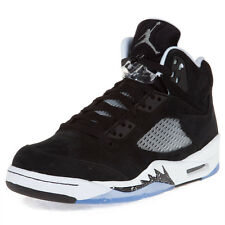"Nike Mens Air Jordan 5 Retro ""Oreo"" Black/Cool Grey 136027-035"