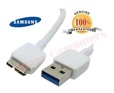 2x Genuine Original USB 3.0 Data Sync Charger Cable for Samsung Galaxy Note 3 S5