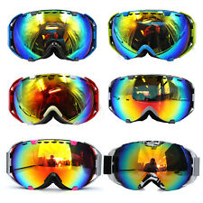 Ski Snowboard Double Tinted Lens Anti-Fog Goggles Sporting Protective Glasses AU