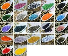 Czech Glass Seed Beads 8/0 PRECIOSA Rocaille 20g