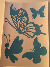 Butterfly Vinyl Stickers Wall Decals Nursery Kid Children Stickers Car Decal