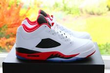 "New Nike Air Jordan Retro V 5 OG Lo ""Fire Red"" UK 7-11 US 8-12 EUR 41-46"