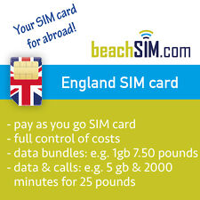 British pay as you goprepaid sim card UK pay-as-you-go up to 5 gb internet