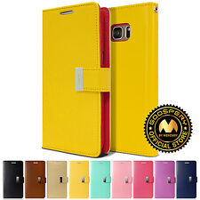 GOOSPERY® Rich PU Leather Flip Wallet Case Cover For Samsung Galaxy Note 5 / 4