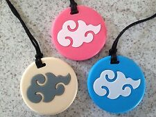"Silicone Teething Nursing Sensory Baby & Mum Jewellery Necklace - ""Lucky Cloud"""
