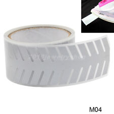 """Safety Silver Reflective Tape Fabric Iron On Material Heat Transfer 2"""" M04"""