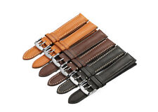 18-22mm Quick Release Genuine Calf Leather Watch Band Strap For Pebble Timex